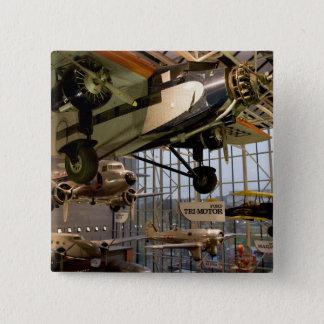 WASHINGTON, D.C. USA. Aircraft displayed in Pinback Button