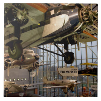 WASHINGTON, D.C. USA. Aircraft displayed in Large Square Tile