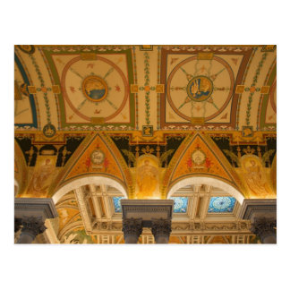 WASHINGTON, D.C. USA. Ceiling in Great Hall of Post Cards