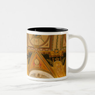 WASHINGTON, D.C. USA. Ceiling in Great Hall of Two-Tone Coffee Mug