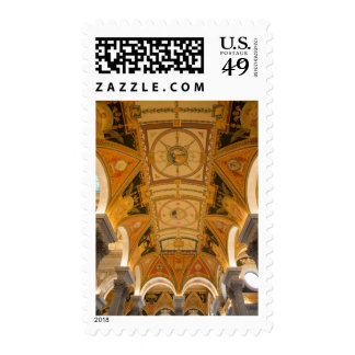 WASHINGTON, D.C. USA. Ceiling of second floor Postage Stamps