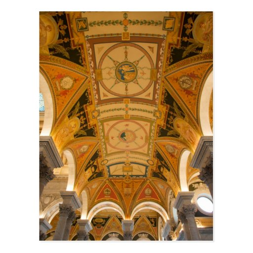 WASHINGTON, D.C. USA. Ceiling of second floor Postcards
