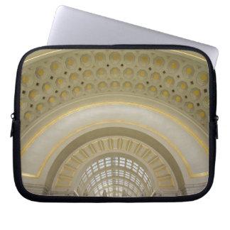 WASHINGTON, D.C. USA. Interior of Union Station. Laptop Computer Sleeves