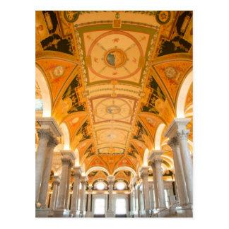 WASHINGTON, D.C. USA. Second floor passage in Postcards