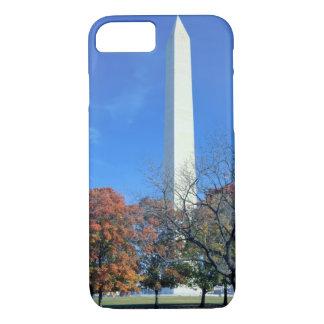 WASHINGTON, D.C. USA. Washington Monument rises iPhone 7 Case