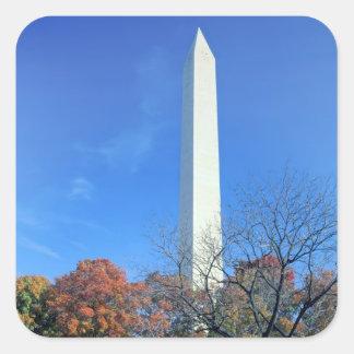 WASHINGTON D C USA Washington Monument rises Sticker