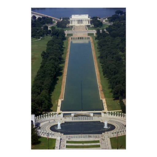 Washington D.C. - View from Washington Monument Poster