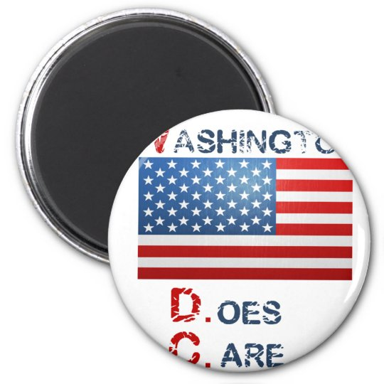 Washington D.Care Products Magnet