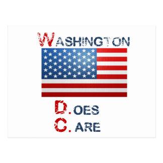 Washington D.Care Products Postcard