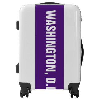 WASHINGTON, D.D., Typo white Luggage