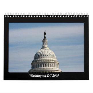 Washington DC 2009 Calendario De Pared