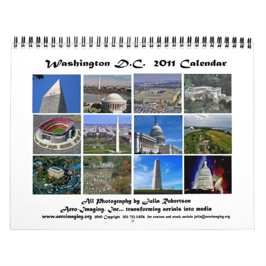 Washington DC 2011 Calendar