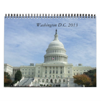 Washington DC 2013 USA Travel Calendar