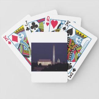 Washington DC 2 Bicycle Playing Cards