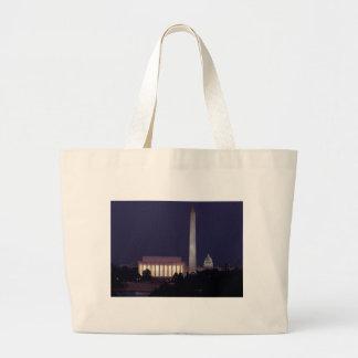 Washington DC 2 Large Tote Bag