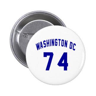Washington DC. 74 Button