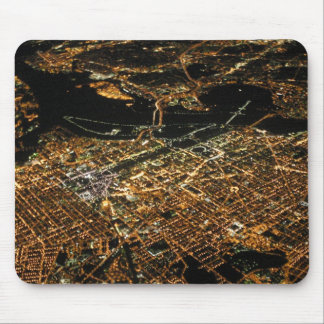 Washington DC Aerial Night Mousepad