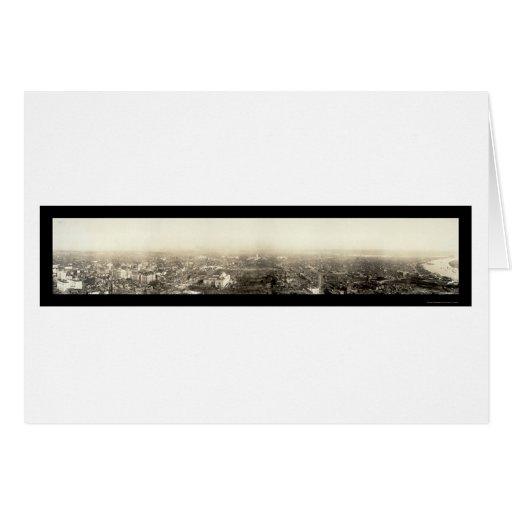 Washington DC Aerial Photo 1912 Card