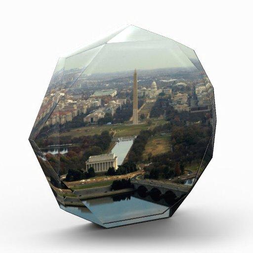 Washington DC Aerial Photograph Acrylic Award