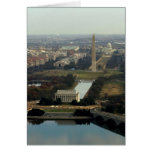 Washington DC Aerial Photograph Card