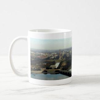 Washington DC Aerial Photograph Coffee Mug