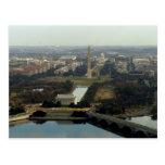 Washington DC Aerial Photograph Postcard