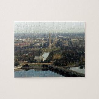 Washington DC Aerial Photograph Puzzle