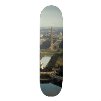 Washington DC Aerial Photograph Skateboard