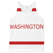 Washington (DC) All-Over Printed Unisex Tank