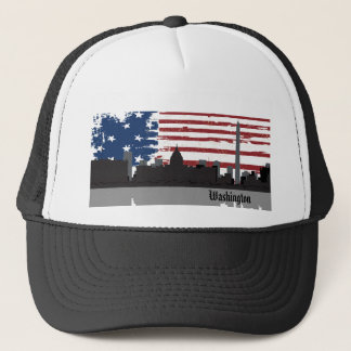 Washington DC  American Cities CityScape Hat