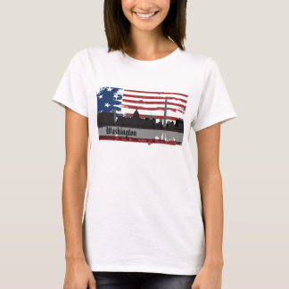 Washington DC American Cities CityScape T-Shirt