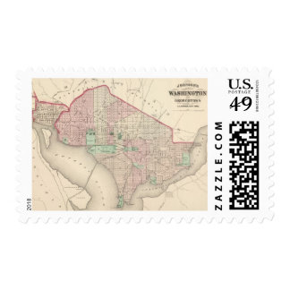 Washington DC and Georgetown Postage