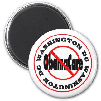 Washington DC Anti ObamaCare – November's Coming! 2 Inch Round Magnet