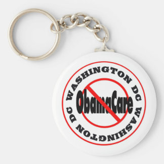 Washington DC Anti ObamaCare – November's Coming! Keychain