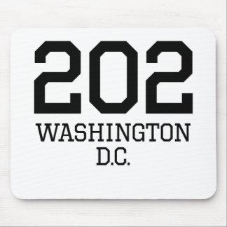Washington DC Area Code 202 Mousepad