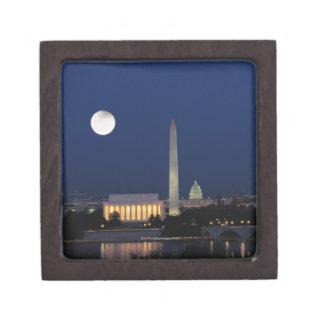 Washington DC at Night Jewelry Box
