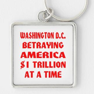Washington DC Betraying America $1 Trillion At A Keychain