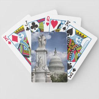 Washington DC Bicycle Playing Cards