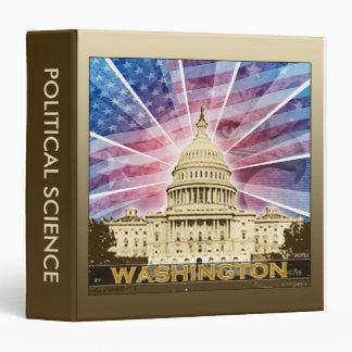 Washington DC Binder