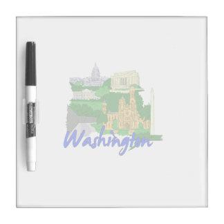 washington dc blue green america city travel vacat dry erase whiteboards