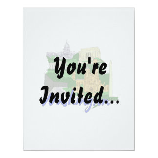 washington dc blue green america city travel vacat invitations