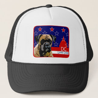 Washington DC Boxer Trucker Hat