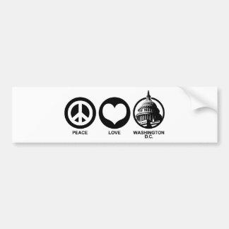 Washington DC Bumper Stickers