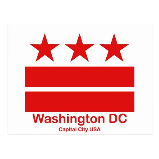 Washington DC Capital City USA Postcard