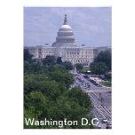 Washington DC capital post card