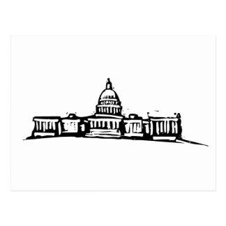 Washington DC Capital Postcard