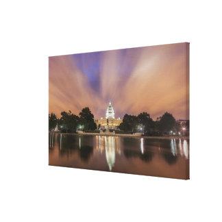 Washington DC, Capitol Building Canvas Print