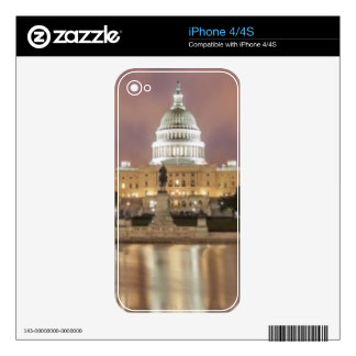 Washington DC, Capitol Building Decal For iPhone 4S