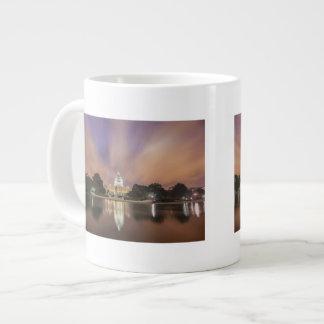Washington DC, Capitol Building Large Coffee Mug