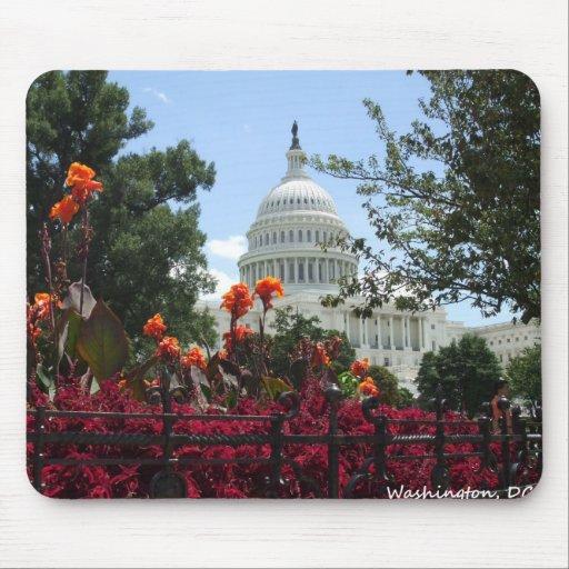 washington dc capitol building mousepads